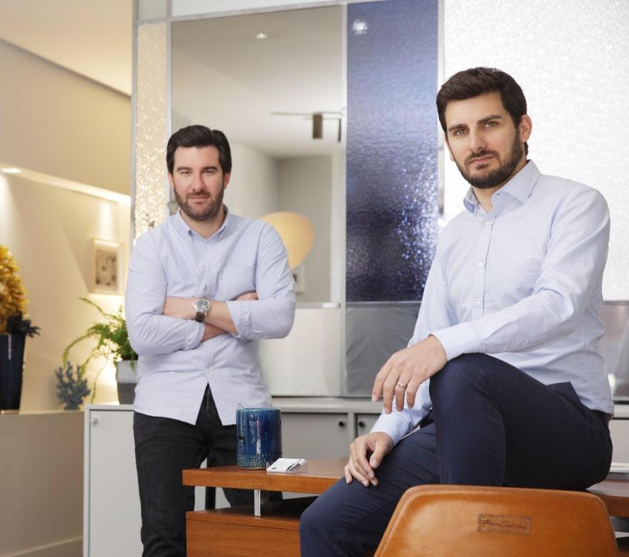 Louis Rossi et Romain Dedieu